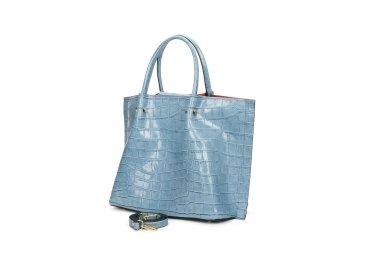 Сумка шоппер Estro голубая ER00107458