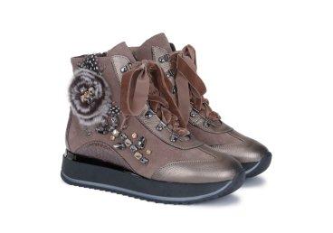 Ботинки зимние Marzetti коричневые ER00103649