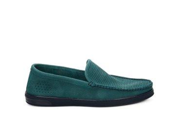 Мокасини літні чоловічі Estro зелені ER00107711