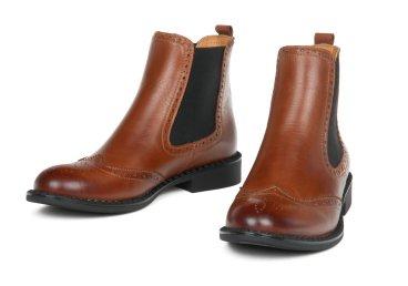 Ботинки челси estro коричневые ER00105450