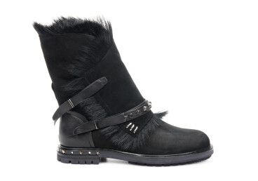 ботинки зимние женские Estro черные ER00106192