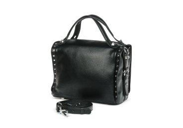 Сумка mini bag кожаная Estro чёрная ER00105333