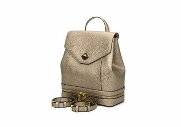 Рюкзак кожаный Cromia золотистый ER00105790