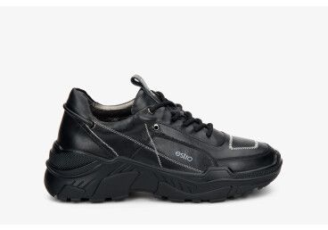 Кроссовки черные Estro ER00108317