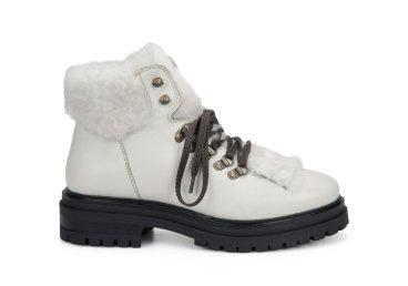 Ботинки зимние женские белые Estro ER00105820