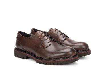 Туфли дерби Estro коричневые ER00106174