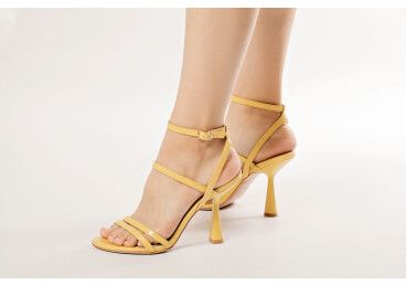 Босоножки женские Estro желтые ER00107675