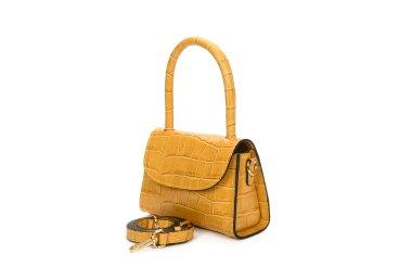 Сумка mini bag шкіряна Estro жовта ER00107460