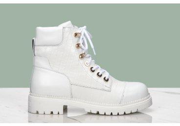 Ботинки демисезонные Estro белые ER00107320