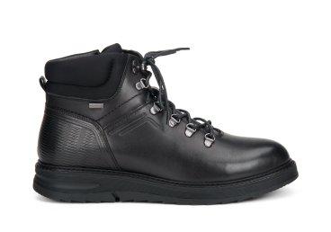 Ботинки кожаные мужские estro чёрные ER00107997