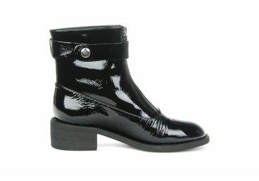 Ботинки лаковые estro чёрные ER00105415