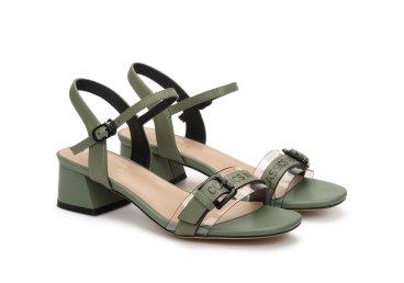 Босоножки женские Estro зелёные ER00107183