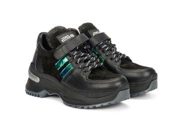 Кроссовки женские ES8 чёрные ER00105981