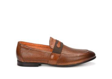 Лоферы мужские Estro коричневые ER00107081