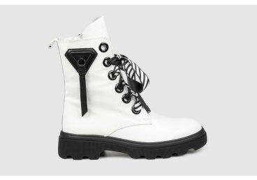 Ботинки женские Estro белые ER00105756