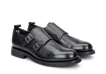 Туфлі монки чоловічі estro чорні ER00108042