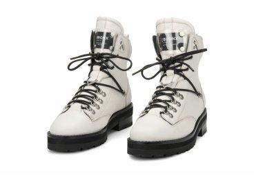 Ботинки женские BRONX белые ER00105921