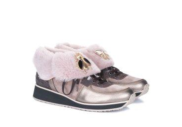 Кроссовки зимние Marzetti золотые ER00103674
