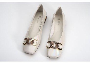 Туфли женские Estro молочные ER00107878