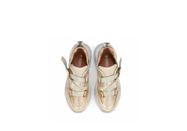 Кроссовки золотистые Estro ER00104309