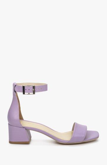 Босоніжки фіолетові Estro ER00109715