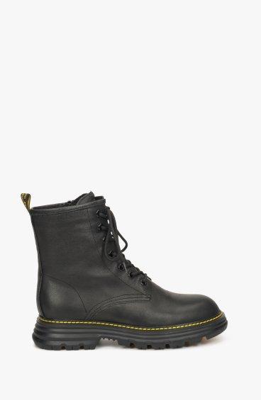 Ботинки черные Estro ER00108814