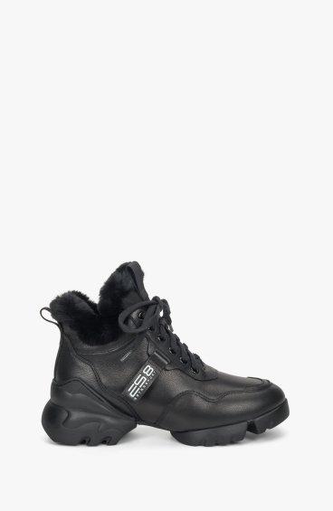 Хайтопы черные ES8 ER00108684