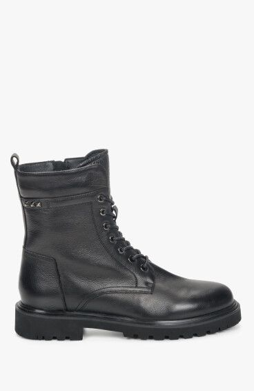 Черевики чорні Estro ER00110102