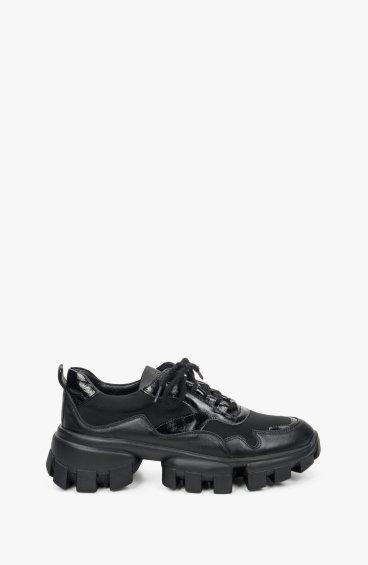 Кросівки чорні Estro ER00109407