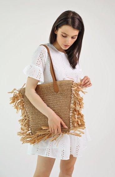 Сумка плетена Estro ER00109696