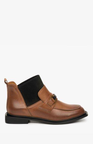 Ботинки с кожаной подкладкой Estro ER00108937