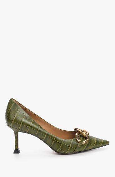 Туфлі зелені Estro ER00110051