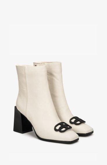 Ботинки молочные Estro ER00108469