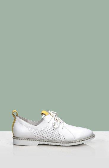 Туфли летние женские Estro белые ER00107261