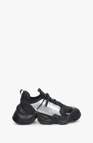 Кроссовки черные Estro ER00109245