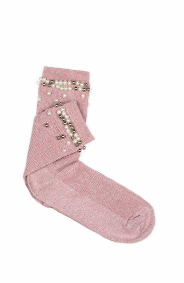 Носки женские розовые Estro ER00105314