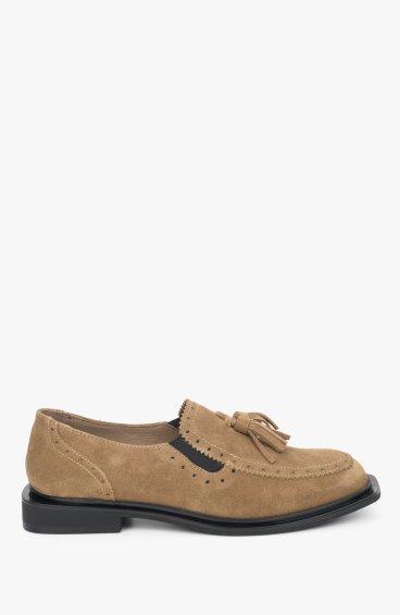 Лоферы коричневые Estro ER00109441