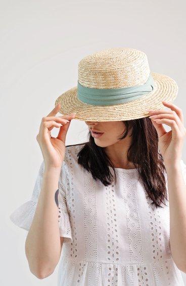 Шляпа соломенная Estro ER00109685