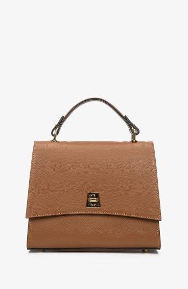 Итальянская кожаная сумка Estro ER00108863