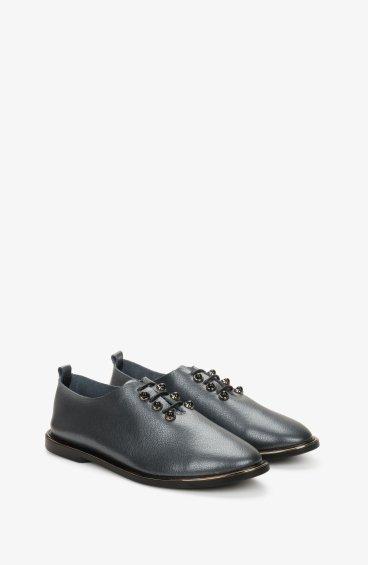 Туфли серые Estro ER00107754
