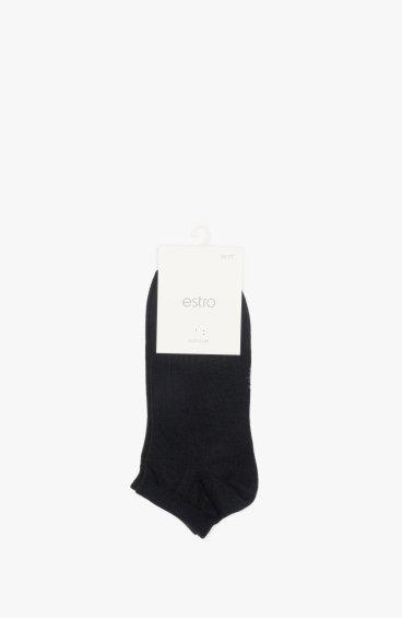 Шкарпетки чоловічі Estro чорні ER00109117