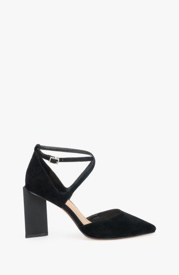 Туфлі чорні Estro ER00108001