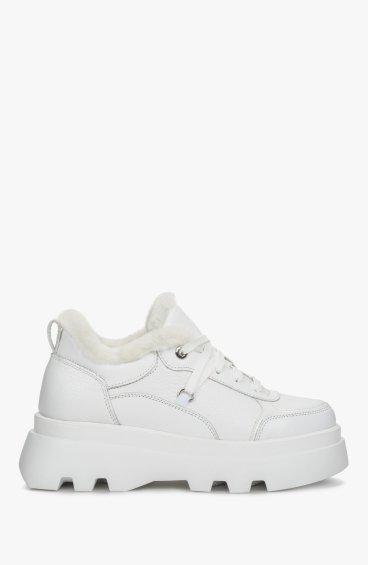 Черевики білі Estro ER00110459