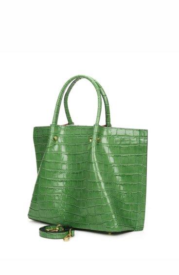 Сумка шоппер Estro зелёная ER00107457