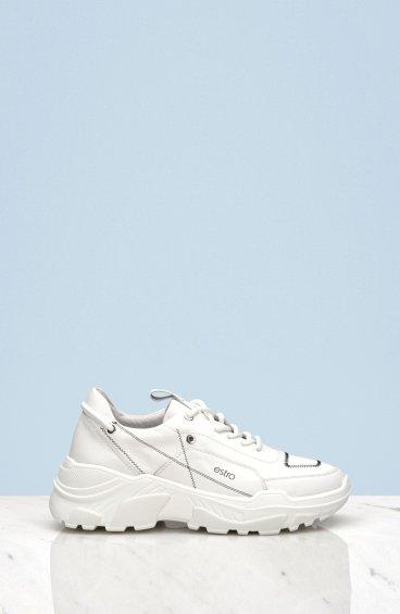 Кроссовки белые Estro ER00108351