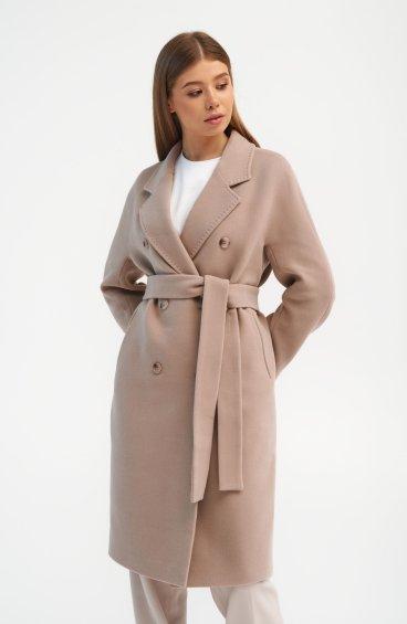 Пальто пудрове Estro ER00110285