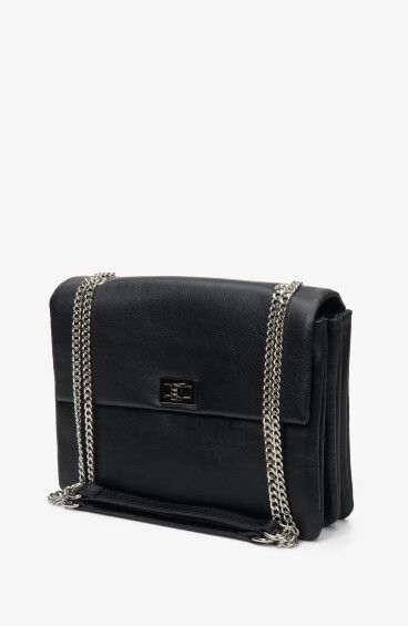 Итальянская кожаная сумка Estro ER00108782