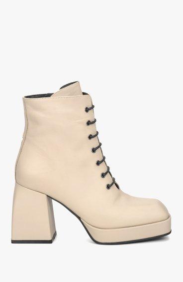 Ботинки бежевые Estro ER00108703