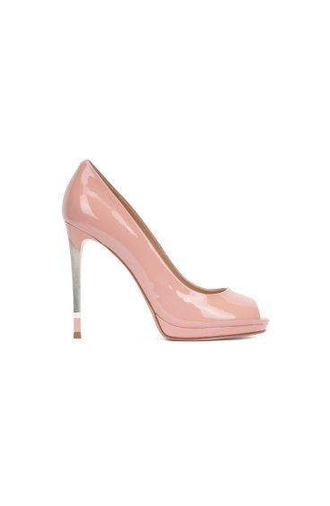 Туфли лаковые Estro розовые ER00101759