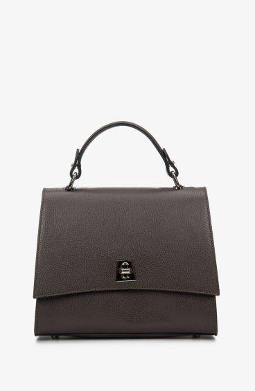 Итальянская кожаная сумка Estro ER00108864